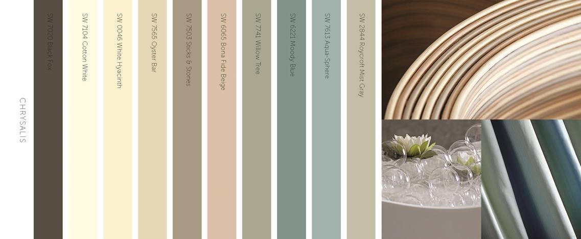Sherwin Williams Chrysalis Palette Image